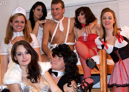 college costume sex party