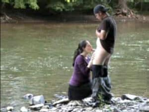 River Ride – Video of Couple Having Sex by the River