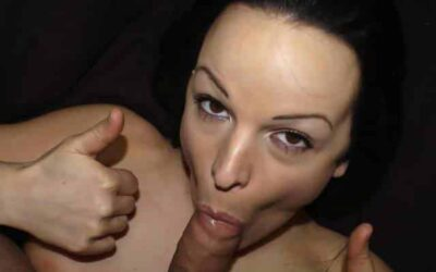 She needed cash to pay rent so she sold a video of herself giving a blowjob!