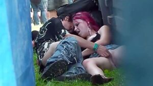 Drunk Slut Fucking at the Rock Festival – Voyeur Video