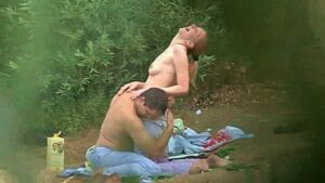 Voyeur Video of Couple Having Sex at the Lake
